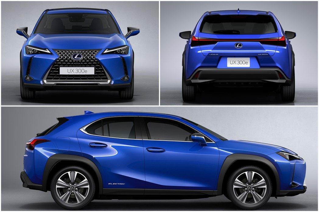Lexus UX300e。 摘自Lexus