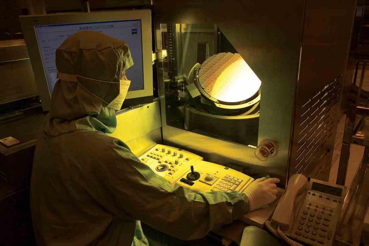 台積電12吋晶圓廠廠房。(台積電提供)