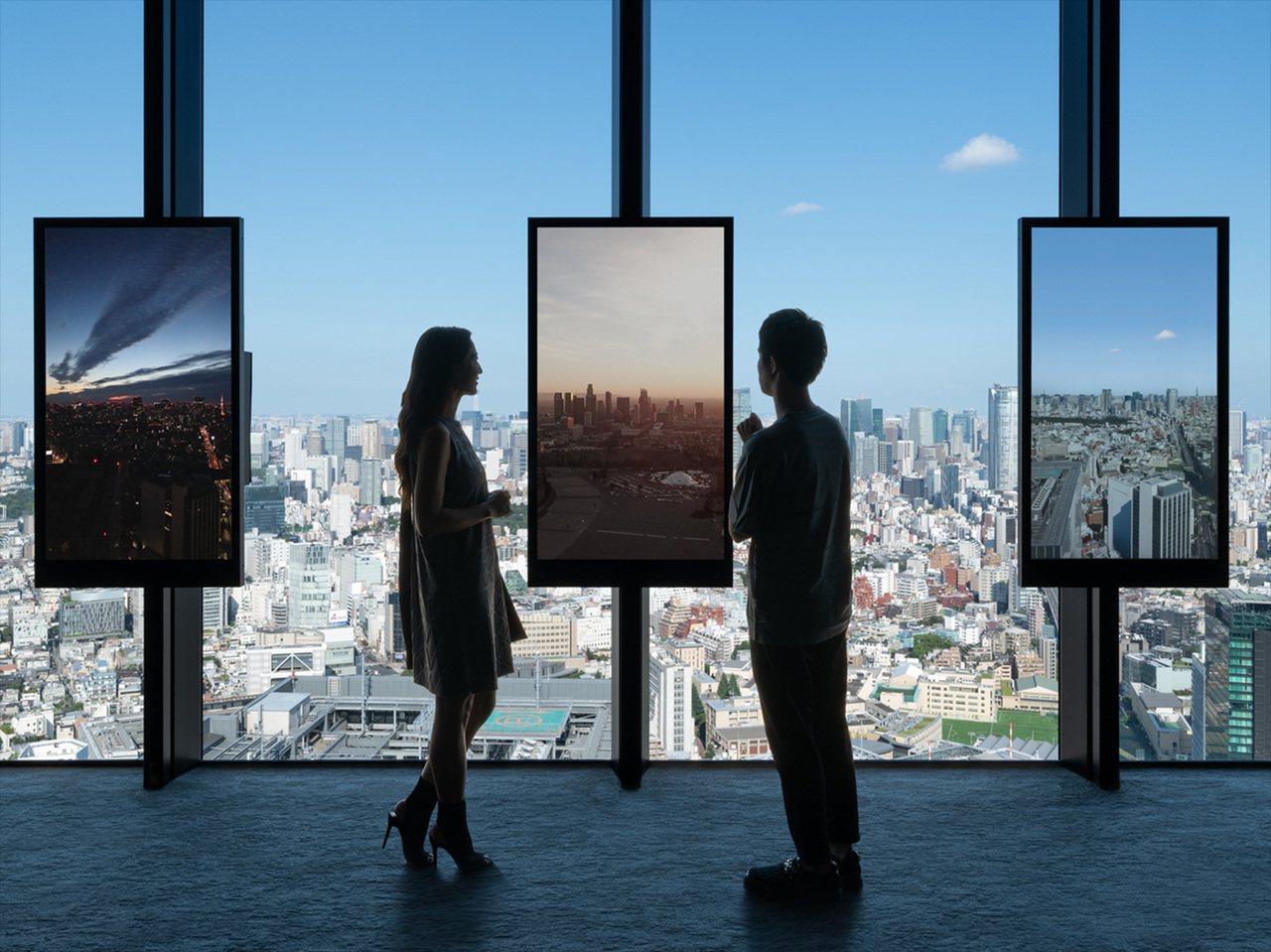 位於「天空迴廊(Sky Gallery)」的「平行視窗(Parallel Win...