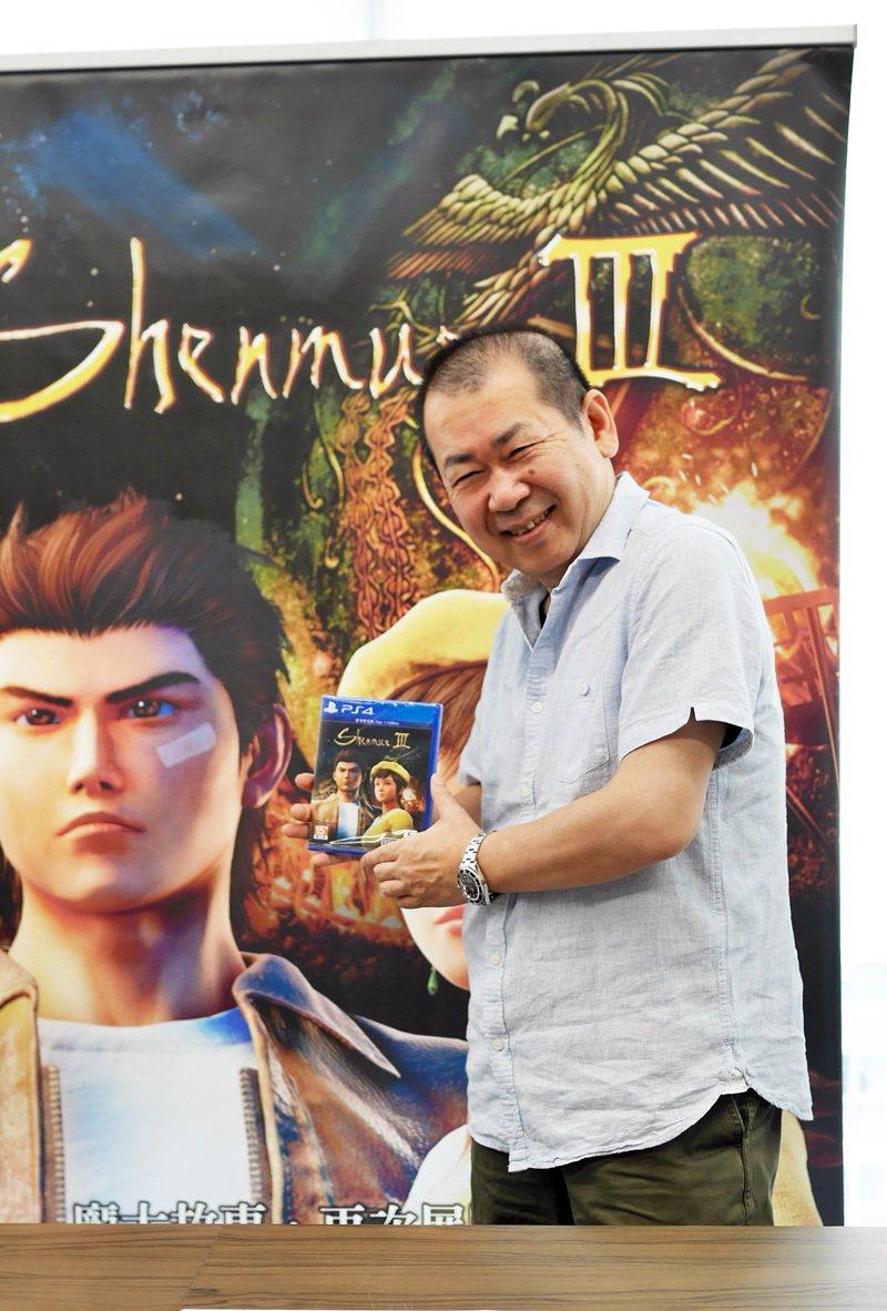鈴木裕先生希望所有華人圈玩家都可以來玩玩《莎木3》