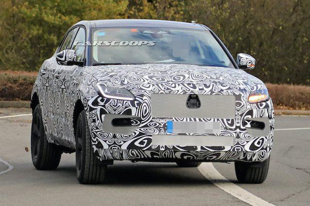 Jaguar E-Pace小改款車型捕獲 時間點似乎早了些?