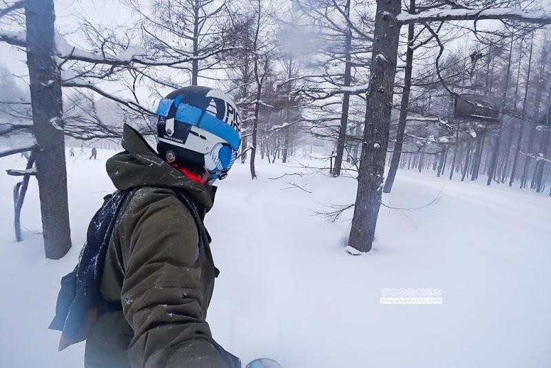 日本/福島Grandeco Snow Resort 初學者練習滑雪的天堂