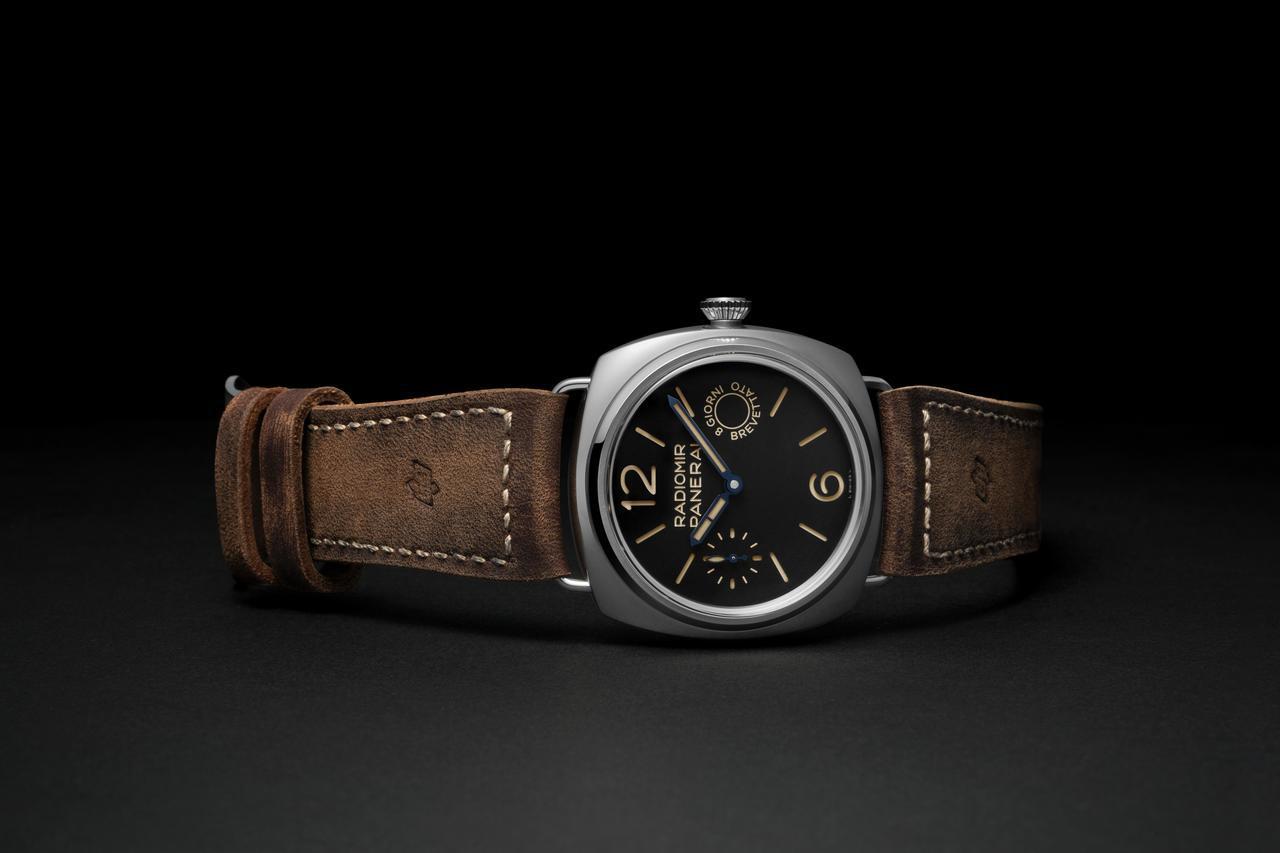 沛納海,Radiomir腕錶 – 45毫米(PAM00992),採用深棕色油鞣小...
