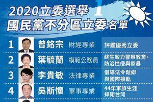 國民黨文宣介紹不分區 謝龍介竟僅一句「台語問政犀利」