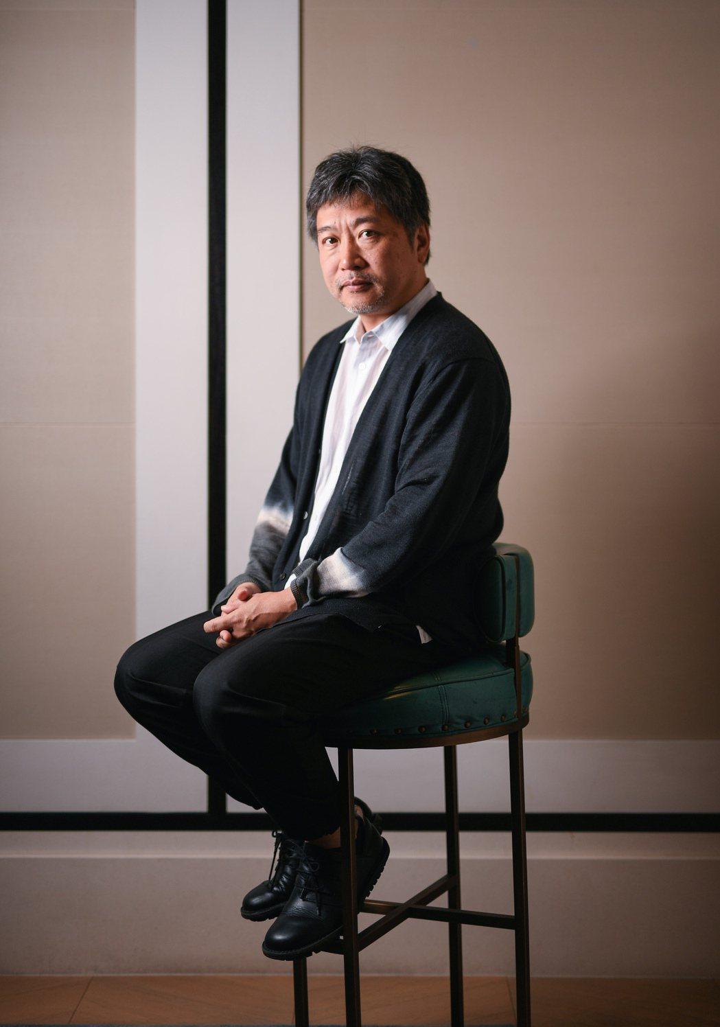 是枝裕和前一晚與金馬執委會主席李安會面吃飯,提及李安一職與他討論3D電影特效。圖...