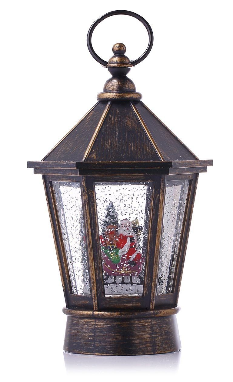 HOLA特力和樂耶誕音樂街燈擺飾,特價959元。圖/HOLA提供