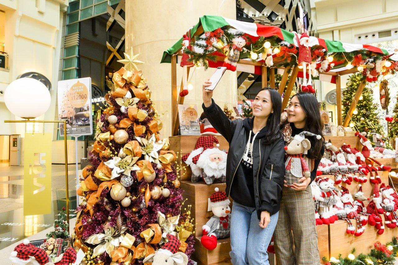 HOLA特力和樂即日起至2020年1月5日進駐台北101 4樓的「耶誕禮物夢工廠...