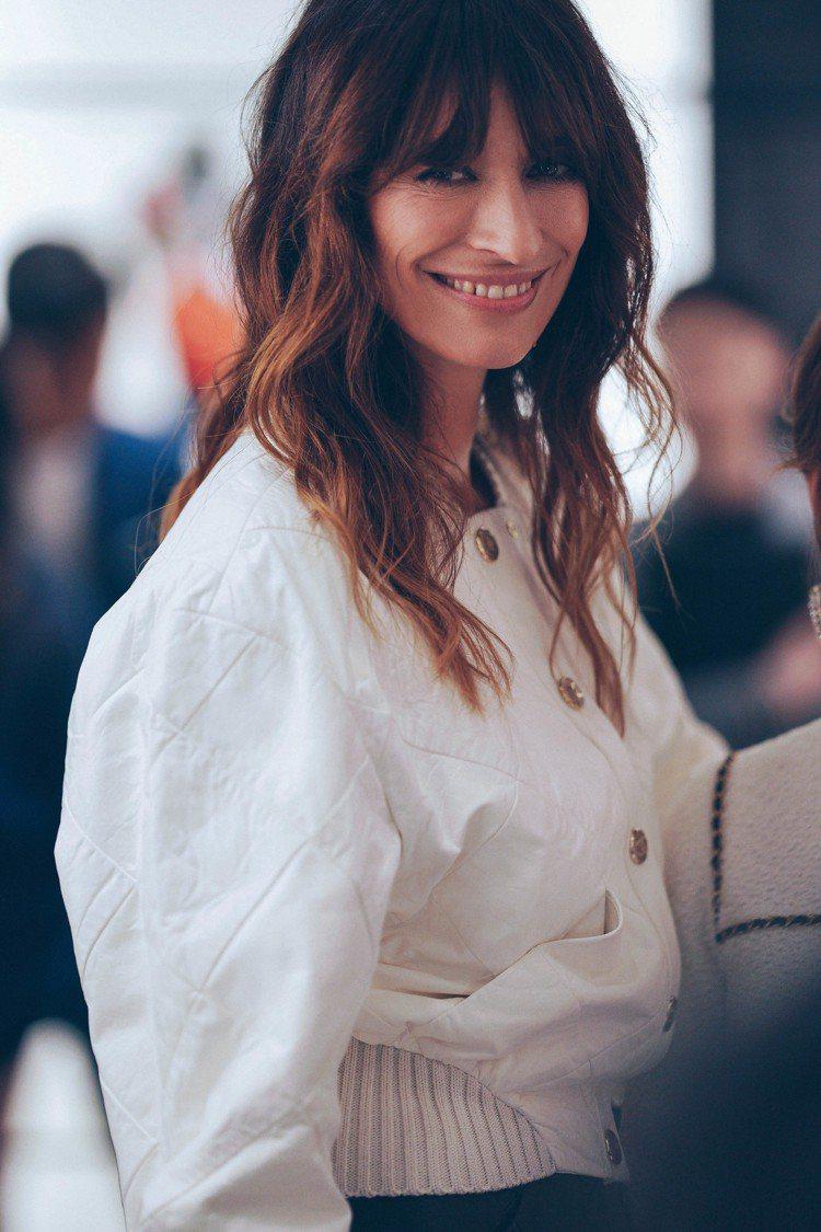 法國名模卡洛琳德麥格雷特也特別來台。圖/香奈兒提供