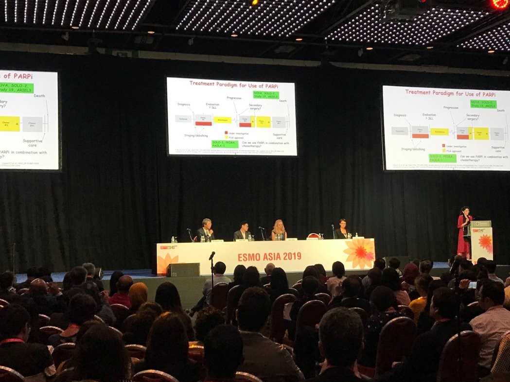 歐洲腫瘤內科學會亞洲年會(ESMO Asia)22日起在新加坡展開一連串癌症治療...