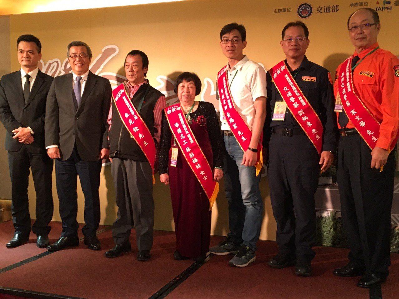 交通部今舉辦金安獎頒獎典禮。記者吳姿賢/攝影