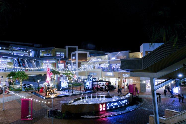 一期紐約廣場耶誕景緻。圖/華泰名品城提供