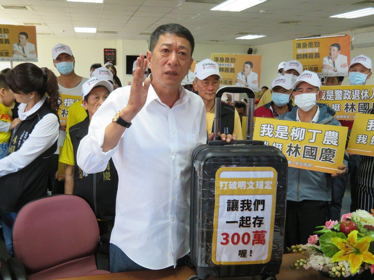 無黨立委參選人林國慶。圖/聯合報資料照片