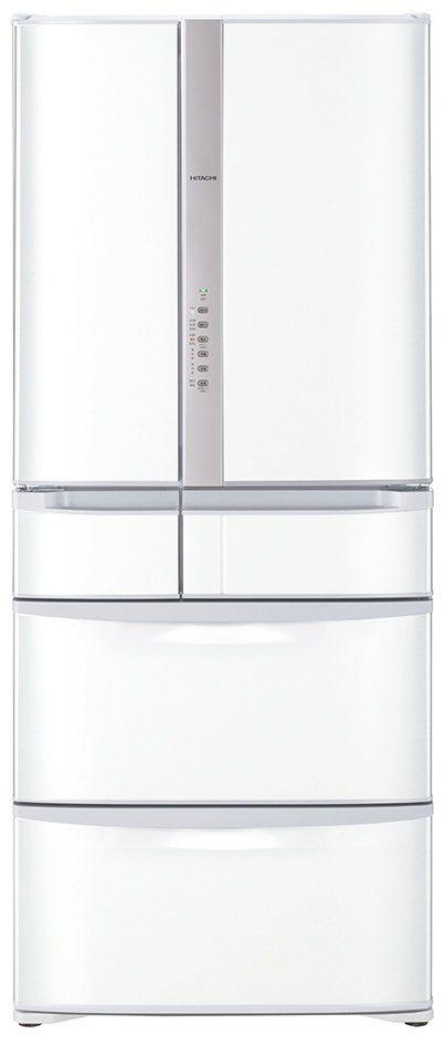日立615L六門日製冰箱鋼板白,市價76,900元、全國電子特價69,210元,...