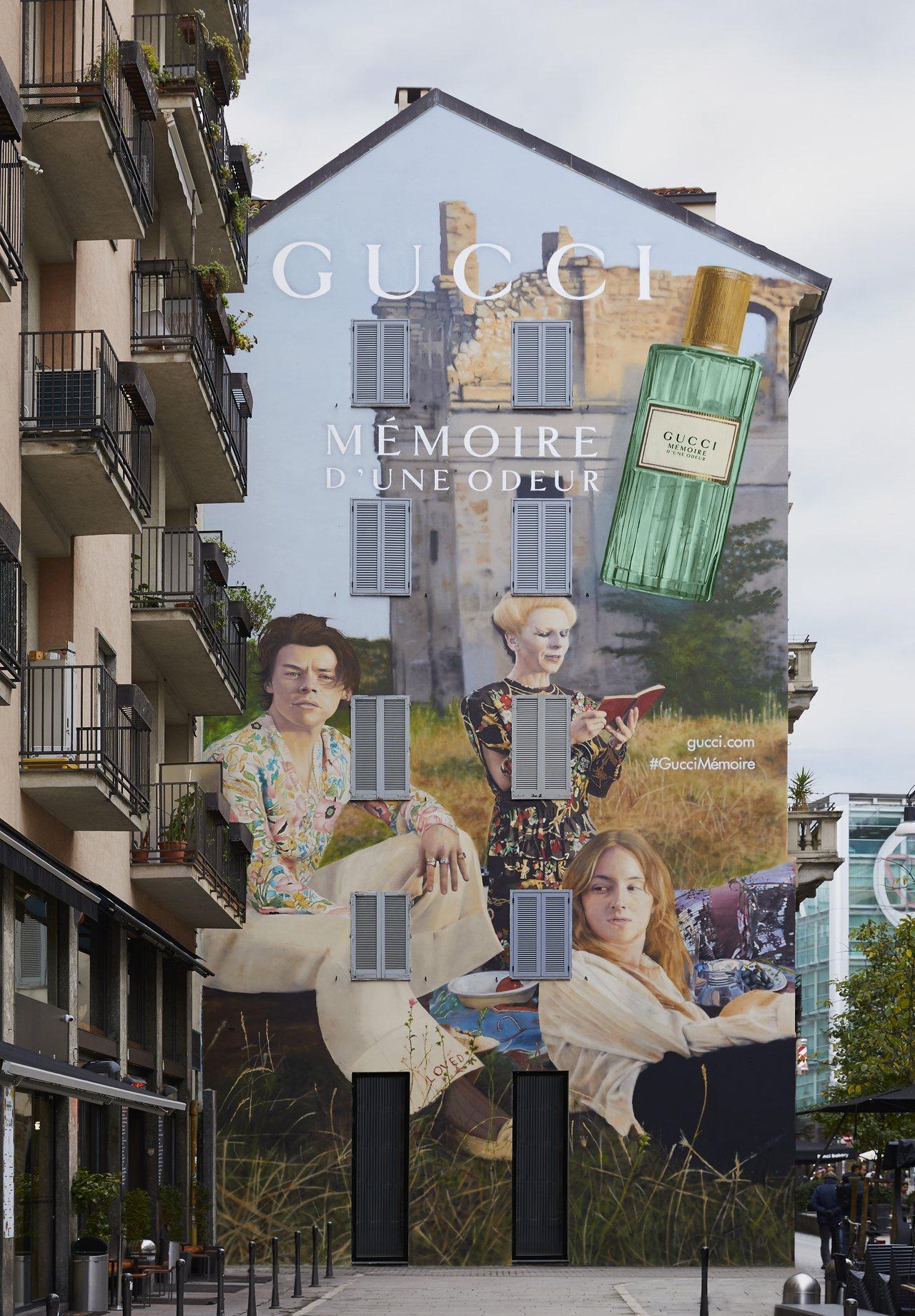 米蘭Largo la Foppa區Corso Garibaldi步行街GUCCI...