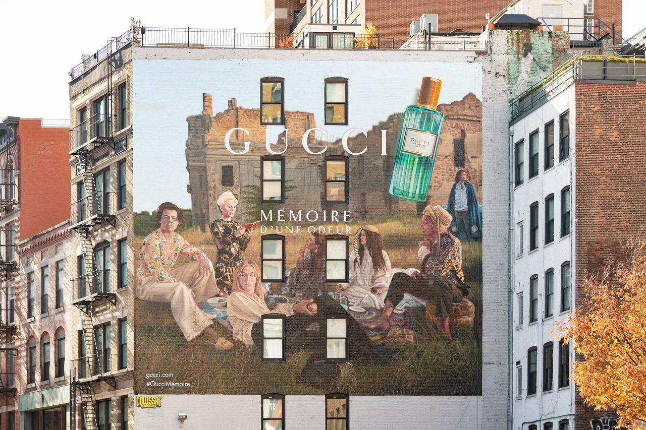 紐約曼哈頓蘇活區的拉法葉街GUCCI Mémoire d'une Odeur香氛...