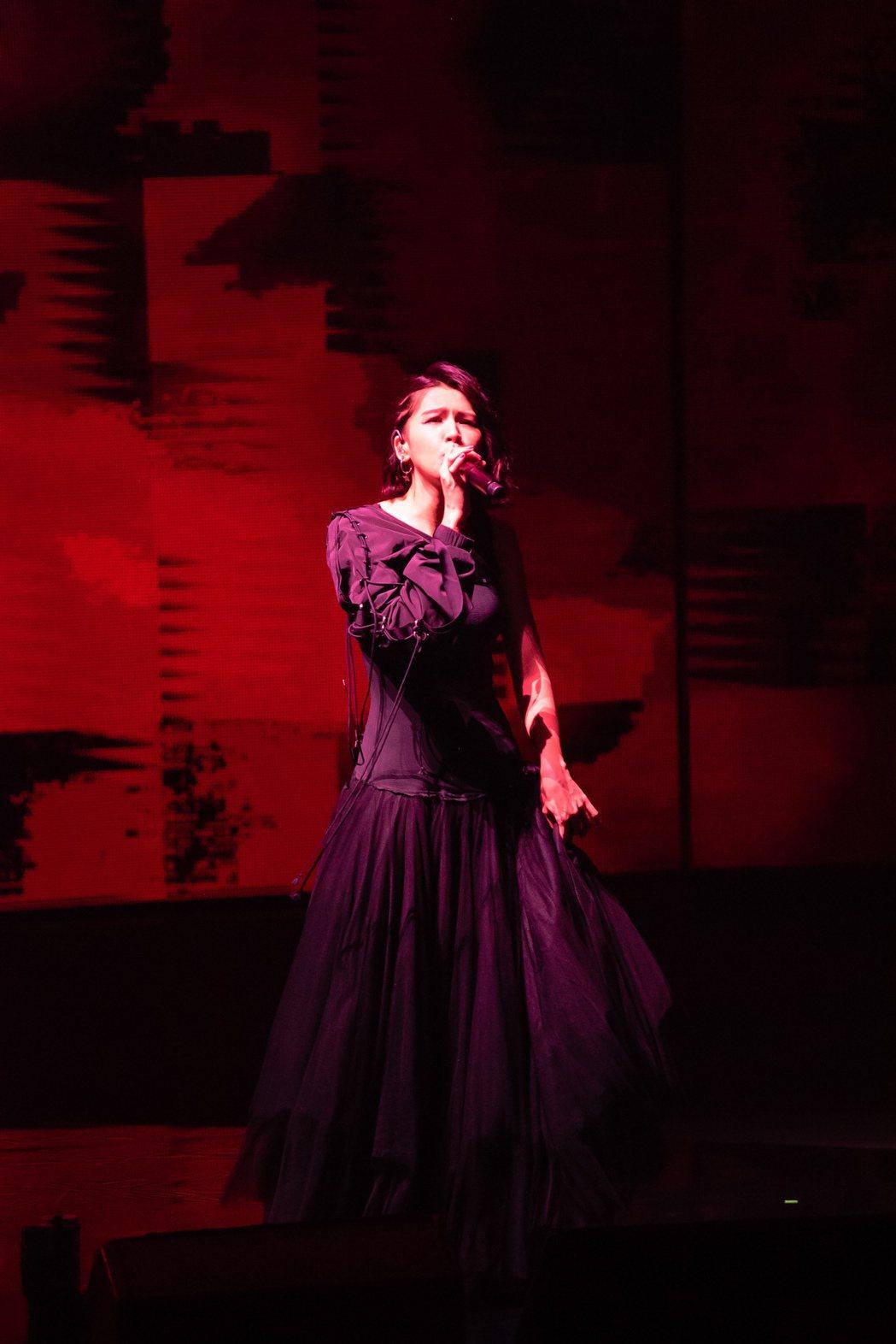 曾沛慈今晚舉辦首場大型個唱「謎之音」。圖/寬宏提供