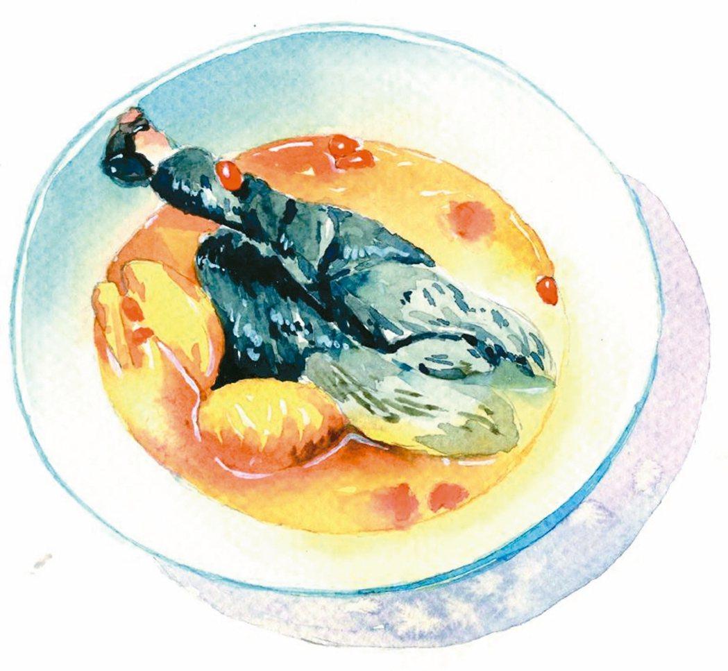 八珍烏骨雞湯。 圖╱聯經提供