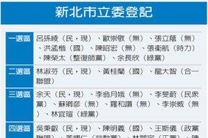 新北立委選情/藍綠五五波 小黨是變數