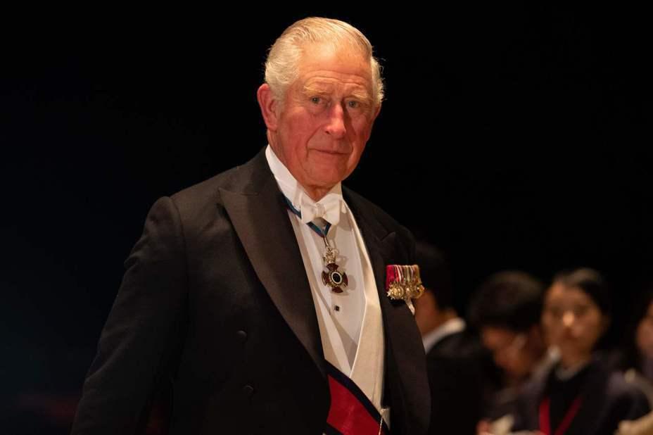 英國王儲查理王子。 法新社