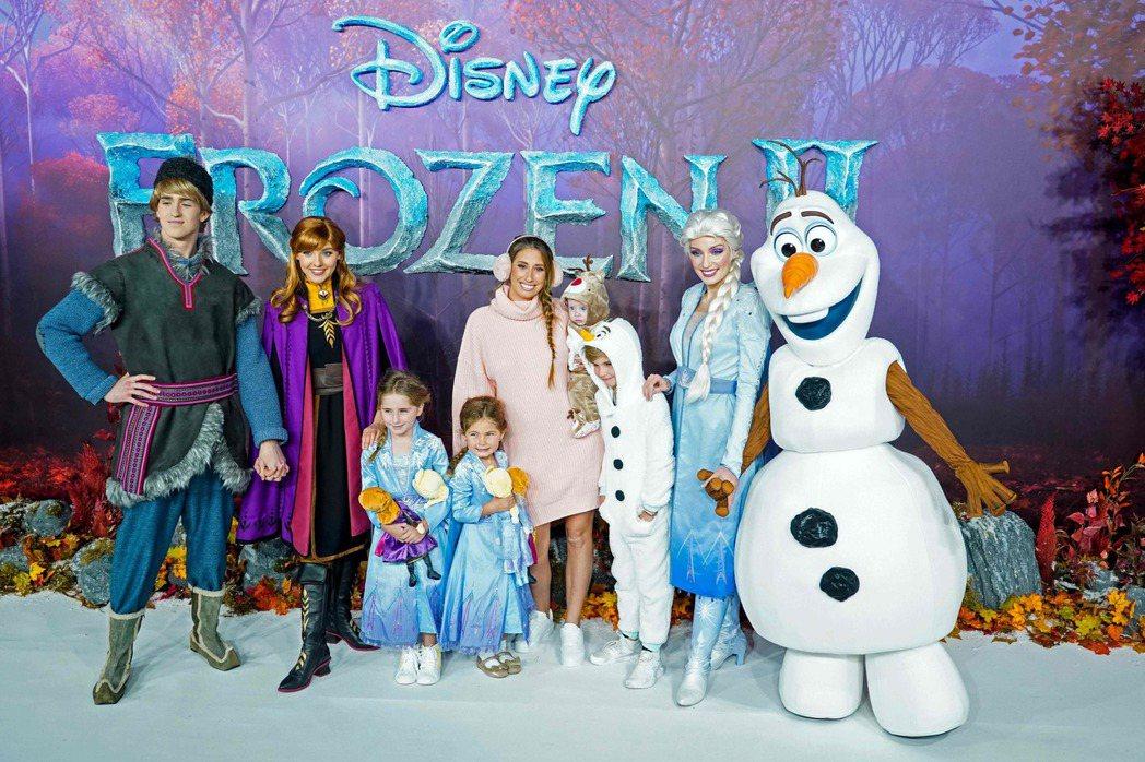 冰雪奇緣系列是迪士尼首度搬上大螢幕的公主系列電影。(法新社)