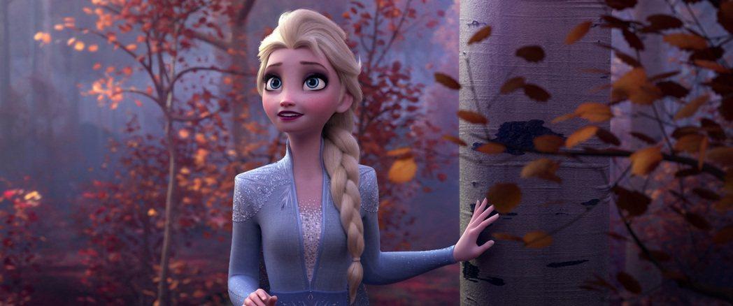 冰雪奇緣中的艾莎女王是許多小女孩心中的女英雄。(美聯社)