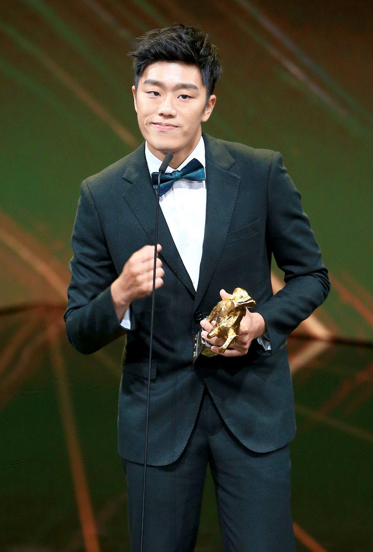 第56屆金馬獎頒獎典禮,洪昰顥以狂徒獲頒最佳動作設計獎。記者林伯東/攝影