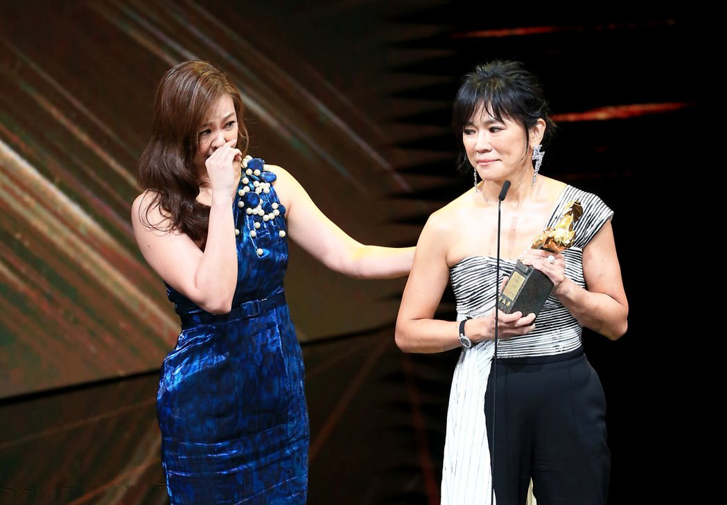 第56屆金馬獎頒獎典禮,王羽獲頒終身成就獎,王羽因為身體狀況欠佳,不克親自出席,...