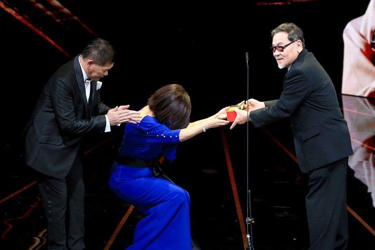 第56屆金馬獎將終身成就獎頒給資深影人王童及王羽,頒獎人澎恰恰、楊貴媚妙語如珠一句句帶出王童導演數十年來對台灣電影界的付出,王童導演知名作品包括1992年執掌的《無言的山丘》以及1983年《看海的日...