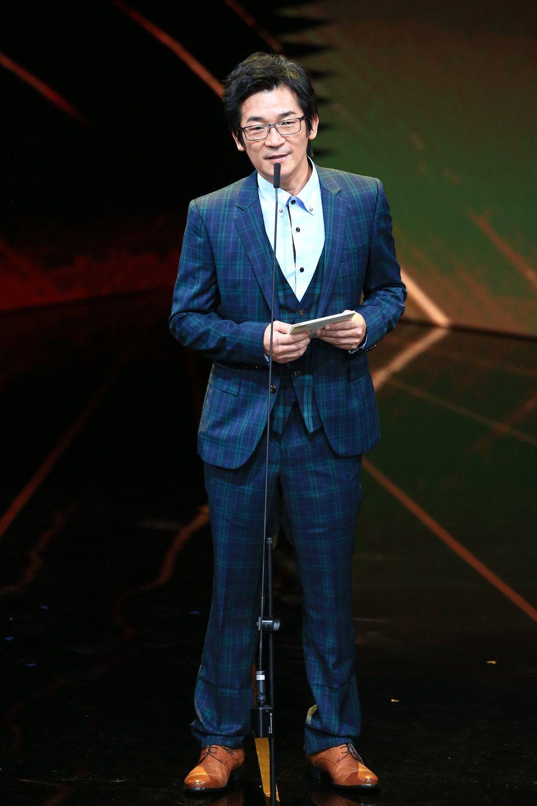 第56屆金馬獎頒獎典禮,魏德聖頒發最佳原創電影歌曲獎與最佳原創電影音樂獎。記者林