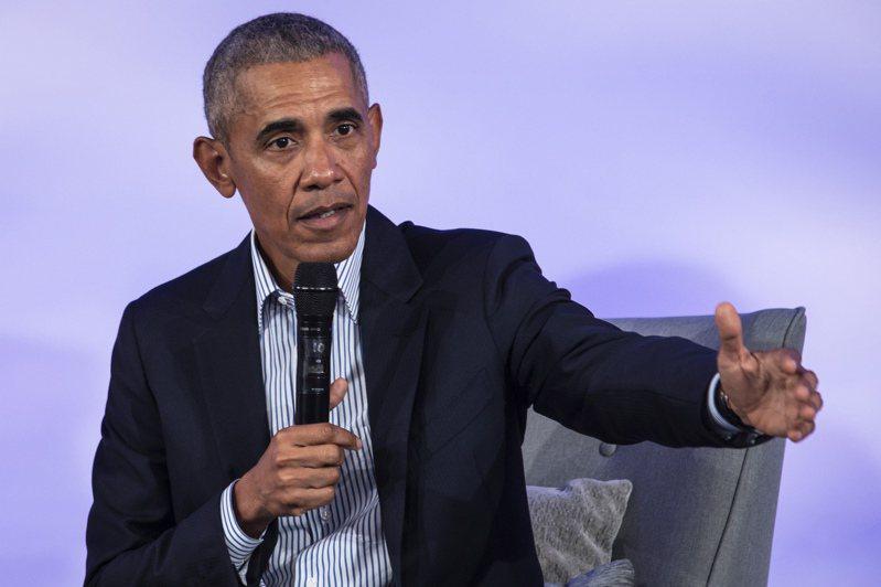 歐巴馬籲民主黨人冷靜,並對黨內總統參選人發出警告。圖/世界日報提供