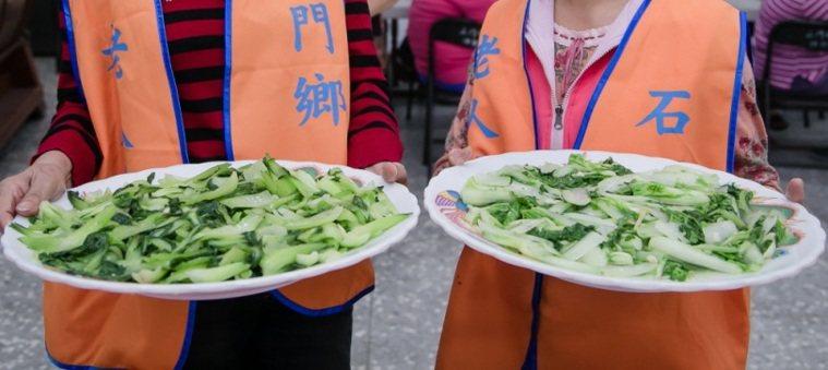 小白菜。圖/石門區公所提供