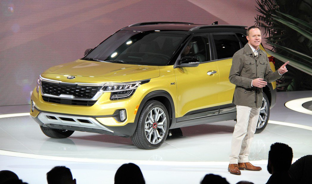 全新Kia Seltos已於洛杉磯車展中正式發表。圖為美規車型。 摘自Kia