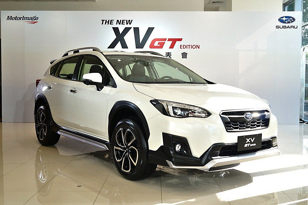 Subaru XV GT Edition特仕車以台幣119萬、優惠價台幣106萬...