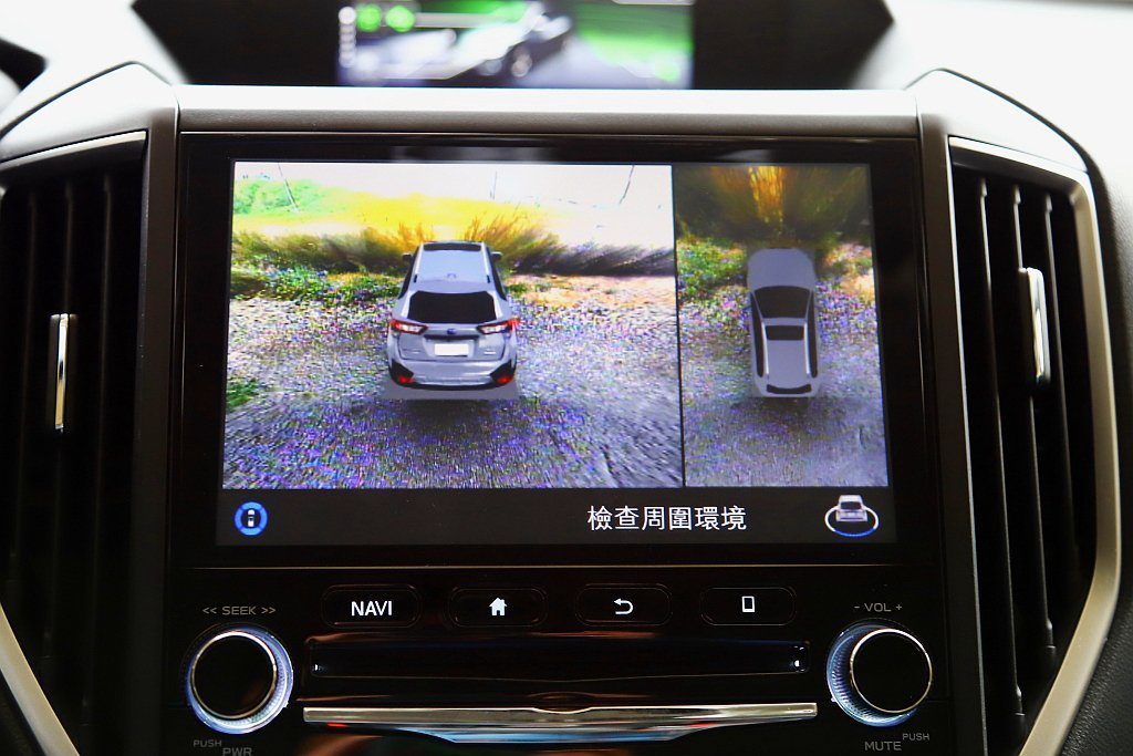 Subaru XV GT Edition將360度環景影像系統列為標準配備。 記...