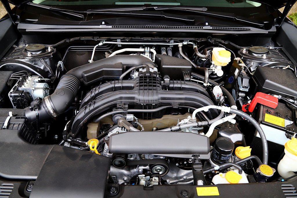 Subaru XV GT Edition動力搭載2.0L水平對臥四缸自然進氣引擎...