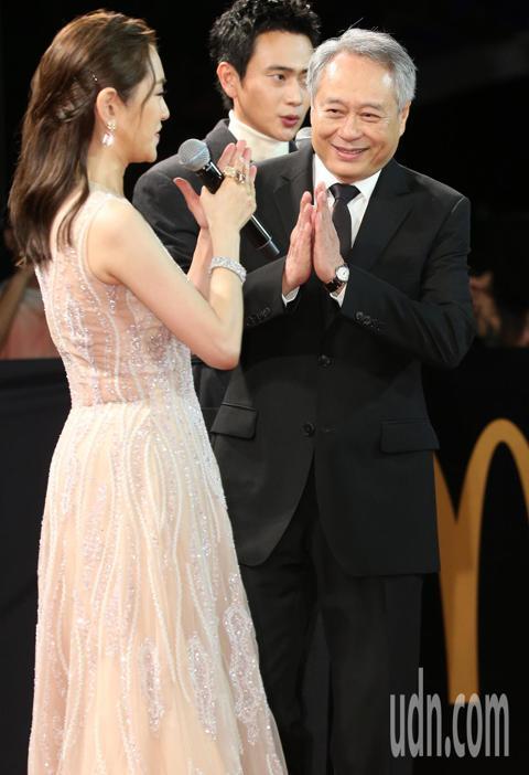 金馬主席李安走星光大道。