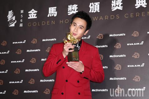 第56屆金馬獎頒獎典禮,劉冠廷獲最佳男配角獎。