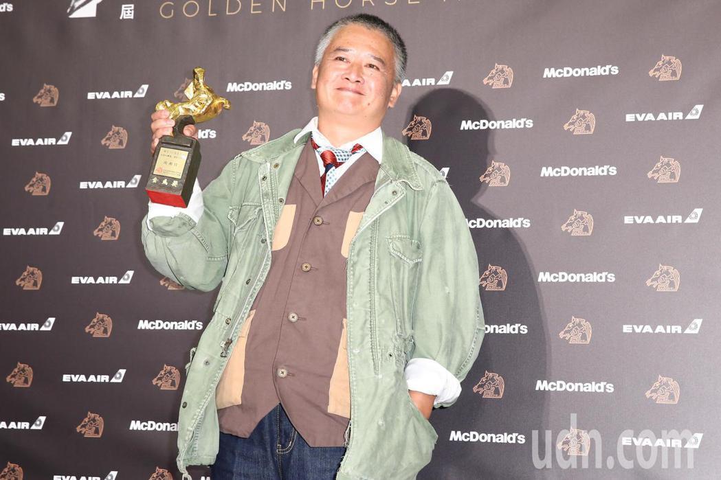 第56屆金馬獎頒獎典禮,年度台灣傑出電影工作者獎由楊湘竹獲得。記者曾原信/攝影