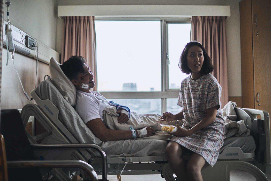張詩盈在「我的靈魂是愛做的」飾演強勢前妻,呈現強大壓迫感。圖/金馬獎執委會提供