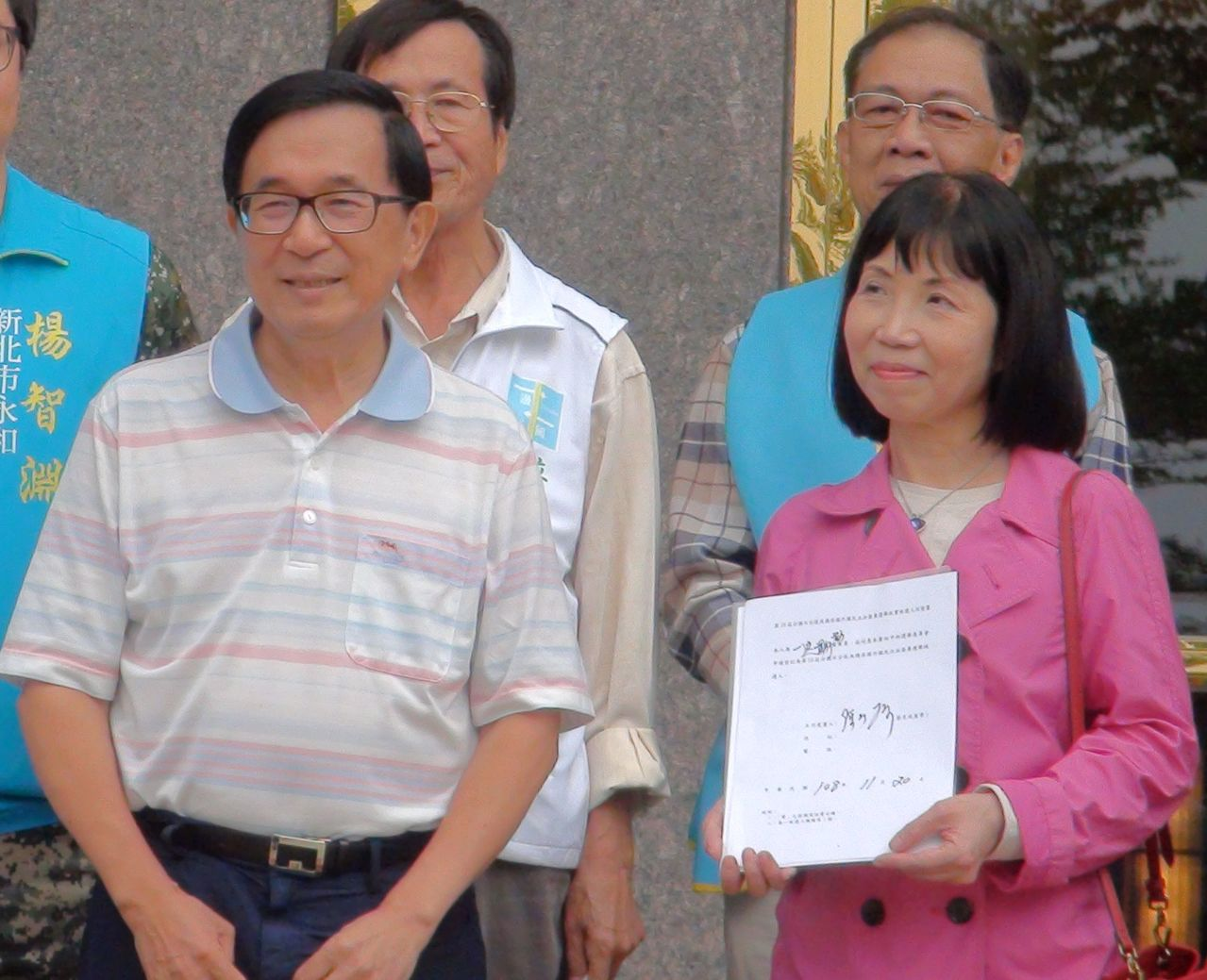 前總統陳水扁被一邊一國行動黨列為不分區第六位,但如最後被中選會剔除,一邊一國行動...