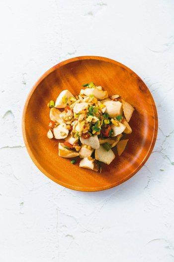 蔥蒜杏鮑菇 圖/三采文化集團提供