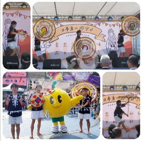 活動開是首先由來自日本東北六縣的大學生表演花笠舞,這是東北四大祭典之一,山形縣的...