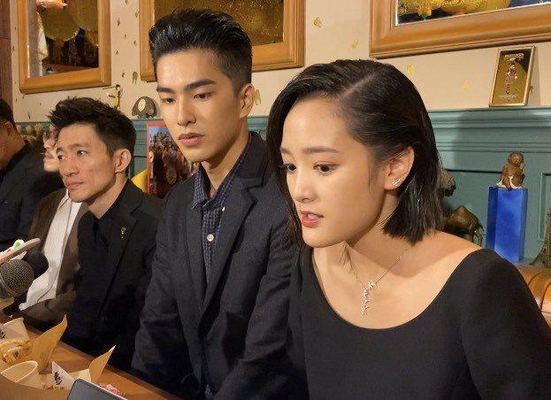 王淨(右起)、曾敬驊、徐漢強。記者陳建嘉攝