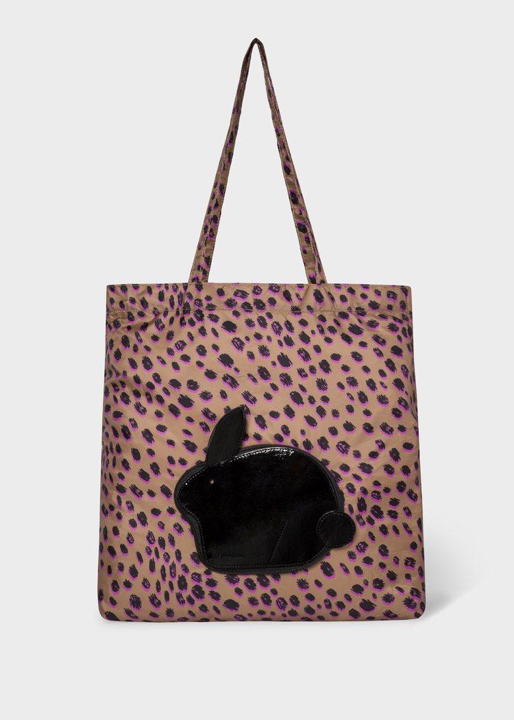 花豹兔子購物袋,7,500元。圖/Paul Smith提供