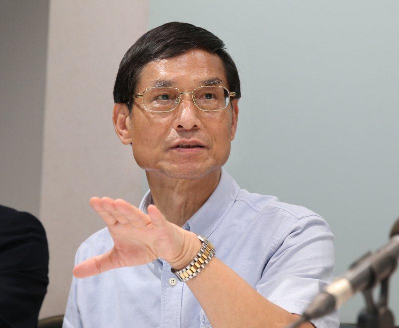 韓國瑜陣營公布「0-6歲國家幫忙養政策」,行政院政委林萬億(圖)對此發表看法。 聯合報系資料照片/記者林澔一攝影