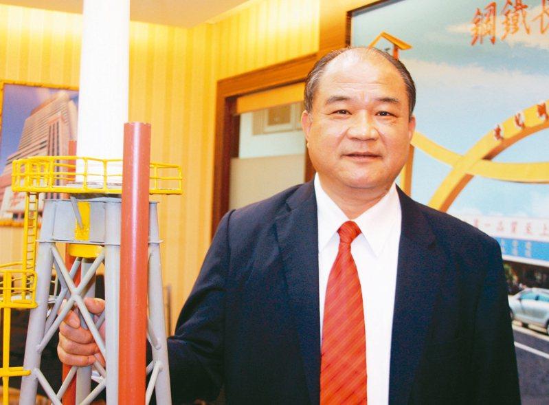 世紀鋼董事長賴文祥。 圖/聯合報系資料照片