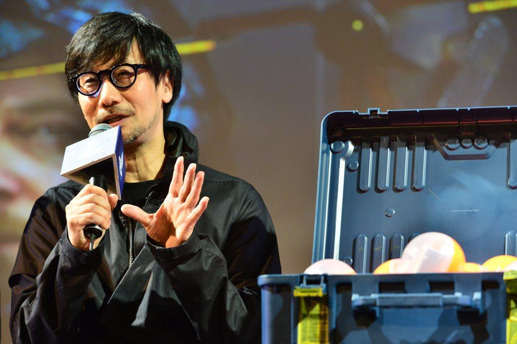小島秀夫親自回答問題
