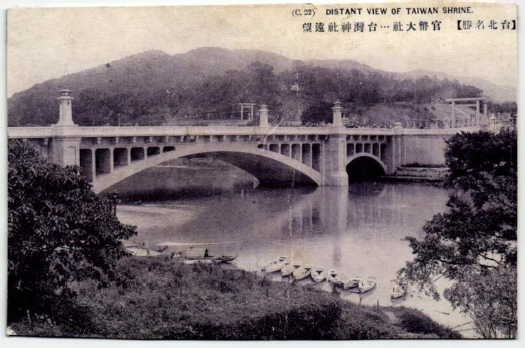 2002年登錄為歷史建築的台北明治橋(中山橋)。 圖/維基共享