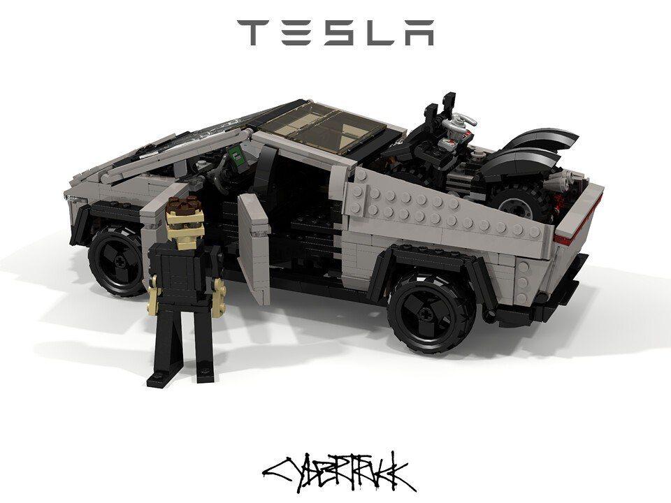 這個樂高人是否就是仿Elon Musk呢? 摘自flickr:Peter Bla...
