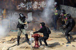 止警暴、制警亂:美國務卿籲港府落實獨立調查